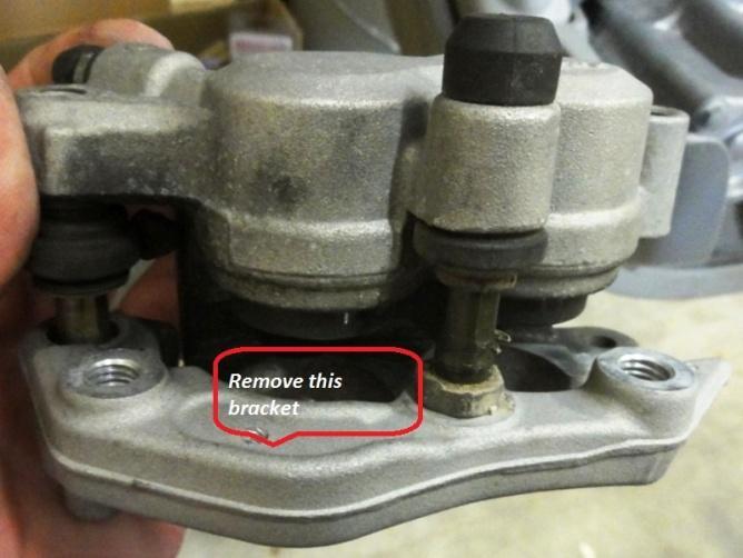 bracket install