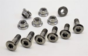 Ti sprocket bolt kit